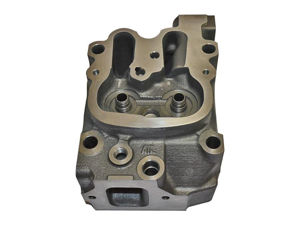 Iron diesel cylinder head
